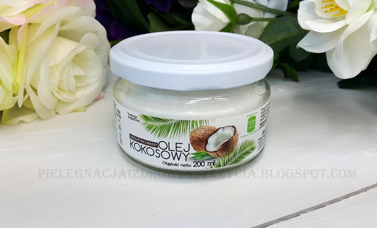Nierafinowany olej kokosowy