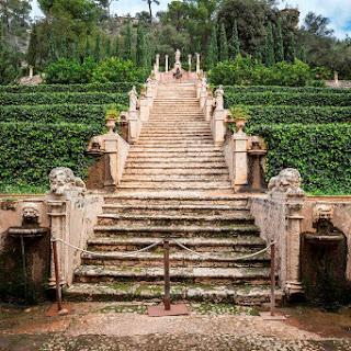 Raixa, jardines neoclásicos y románticos en una posesión de Mallorca
