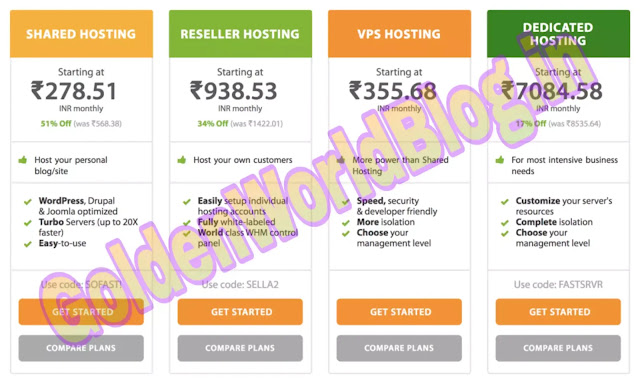 Best web hosting services for your website in 2020 | GoldenWorldBlog