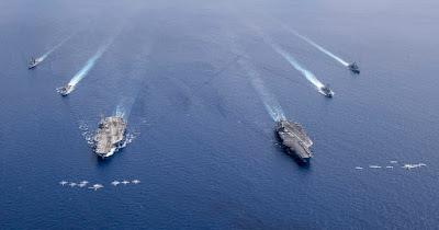 Armada Kapal Induk AS
