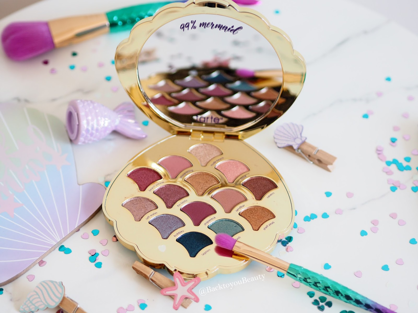 Tarte Be a Mermaid Make Waves Palette