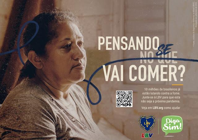 Toda ajuda é necessária para assistir as famílias mais vulneráveis que sofrem com a fome