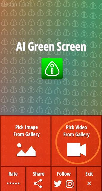 green screen effect