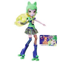 MLP Lemon Zest Friendship Games Sporty Style Roller Skater Doll