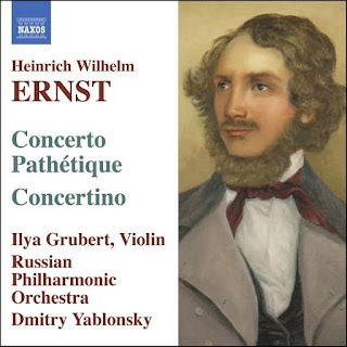 ERNST: Music for Violin and Orchestra