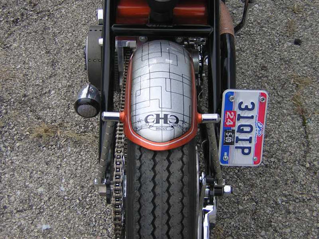 Harley Davidson Shovelhead By Court House Custom Hell Kustom