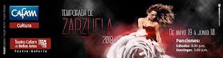 TEMPORADA DE ZARZUELA 2018: Teatro de Bellas Artes