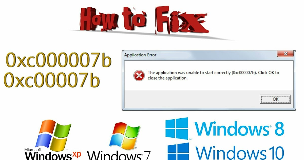 Solved] How to Fix 0xc000007b error on all windows [100% Working