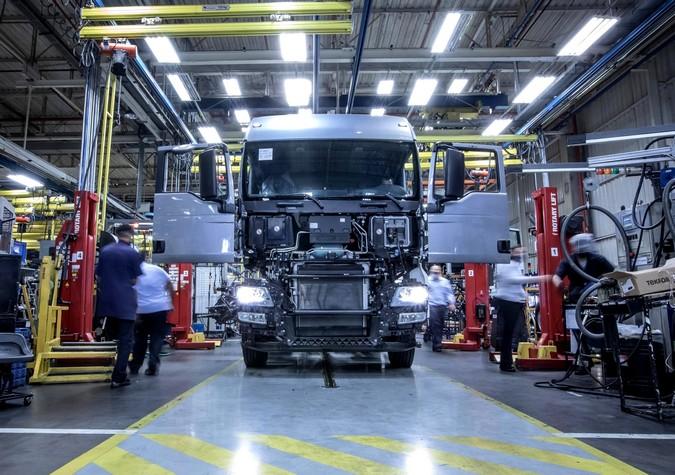 Produção de caminhões cresce 34% no primeiro trimestre do ano