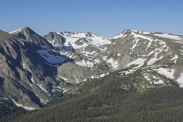 Mt. Ida and friends from Trail Ridge Road