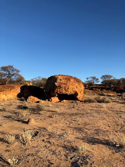 Rock Sculpture at The Granites Mount Magnet
