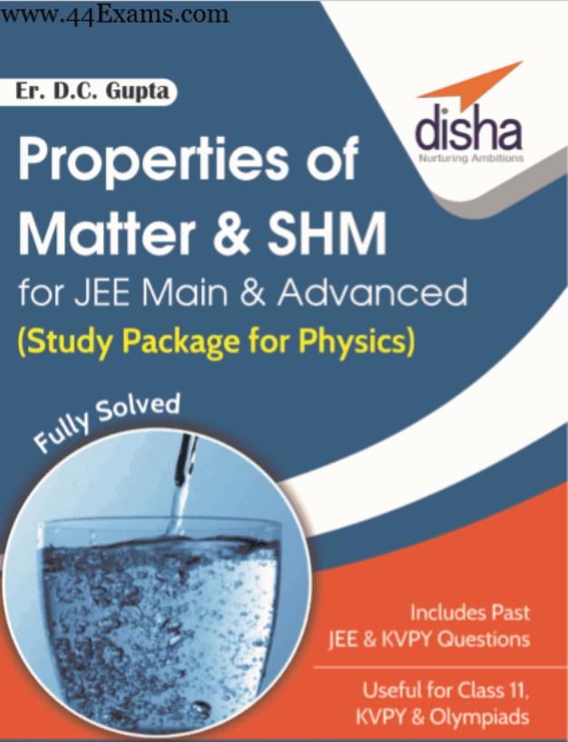 Properties-of-Matter-and-SHM-by-Disha-Publication-For-JEE-Main-and-Advanced-Exam-PDF-Book