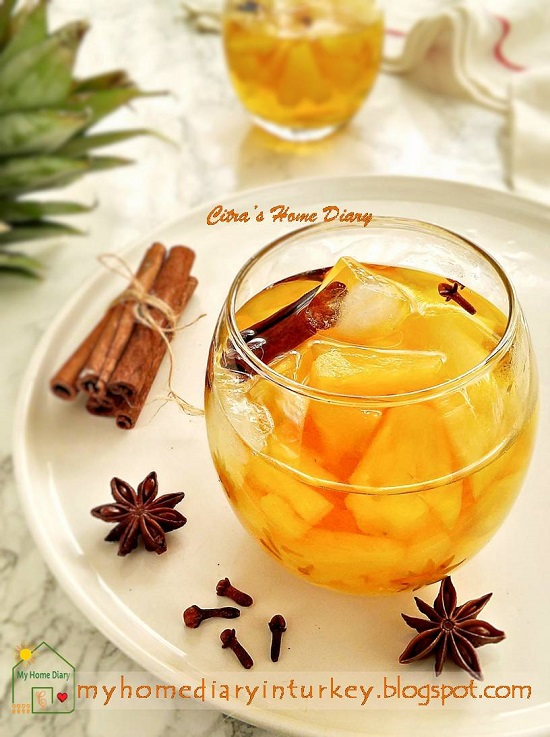 Indonesia Classic beverage; #setupnanas / Setup Nanas segar dan Mudah | Çitra's Home Diary.