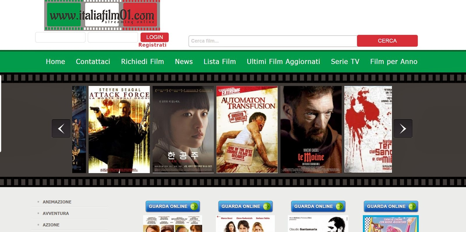 siti di incontri gratis cinema streaming gratis