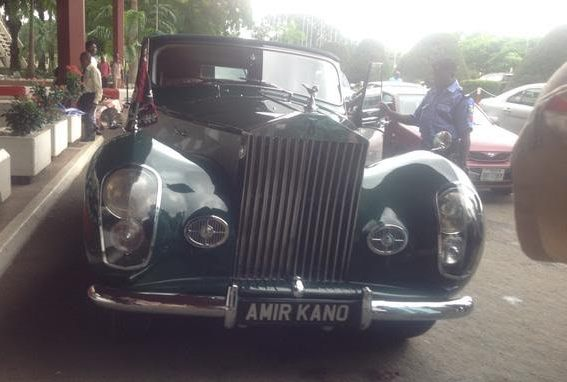 sanusi antique car