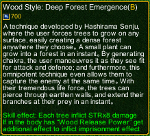 naruto castle defense 6.3 Deep Forest Emergence detail