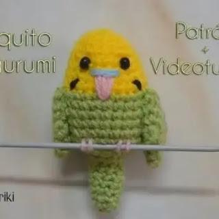 Amigurumi Periquito a Crochet