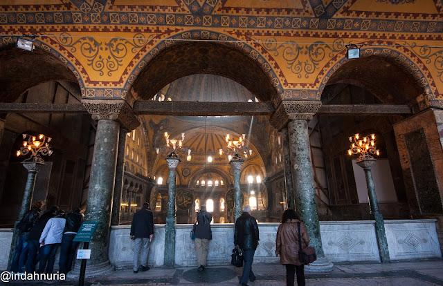Welcome to Hagia Sophia, Istanbul, Turkey