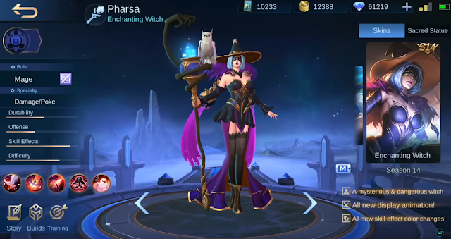 Skin Season S14 Mobile Legends Enchanting Witch