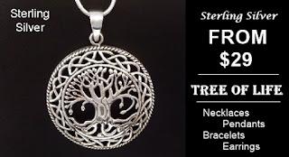 Tree of Life Jewellery at MothersDayAustralia.net.au