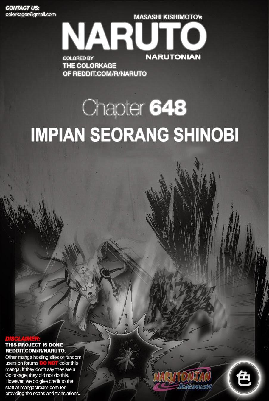 Dilarang COPAS - situs resmi www.mangacanblog.com - Komik naruto berwarna 648 - impian seorang shinobi 649 Indonesia naruto berwarna 648 - impian seorang shinobi Terbaru 0|Baca Manga Komik Indonesia|Mangacan