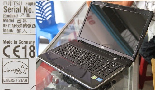 jual Laptop Fujitsu Lifebook AH531 ( Made in Germany )