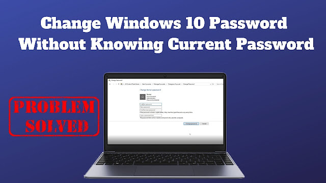 How to change Computer Password without knowing current Password