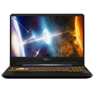 laptop untuk gaming ASUS TUF FX505DT R5586T dengan ryzen 5