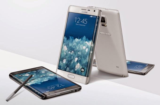 Harga Smartphone Samsung Galaxy Note Edge android kamera depan 7mp