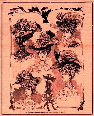 Moda la inceputul secolului XX