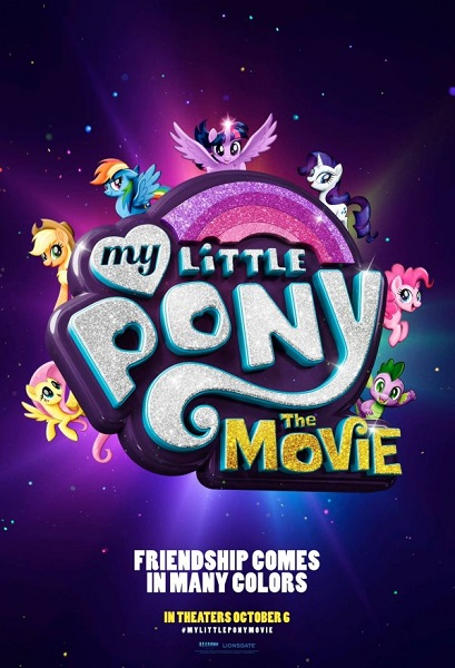 Film My Little Pony: The Movie 2017 Bioskop