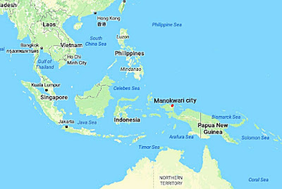 Manokwari the capital of Papua Barat