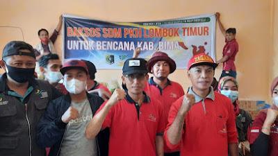 SDM PKH Lotim Kunjungi Masyarakat Terdampak Banjir di Bima