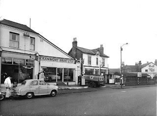 Cranmore Bros, 467 Hagley Road - Standard Triumph car dealer