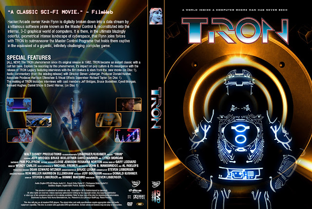 Tron DVD Cover