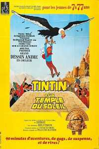 Tintin and the Temple of the Sun Hindi Dubbed 200mb