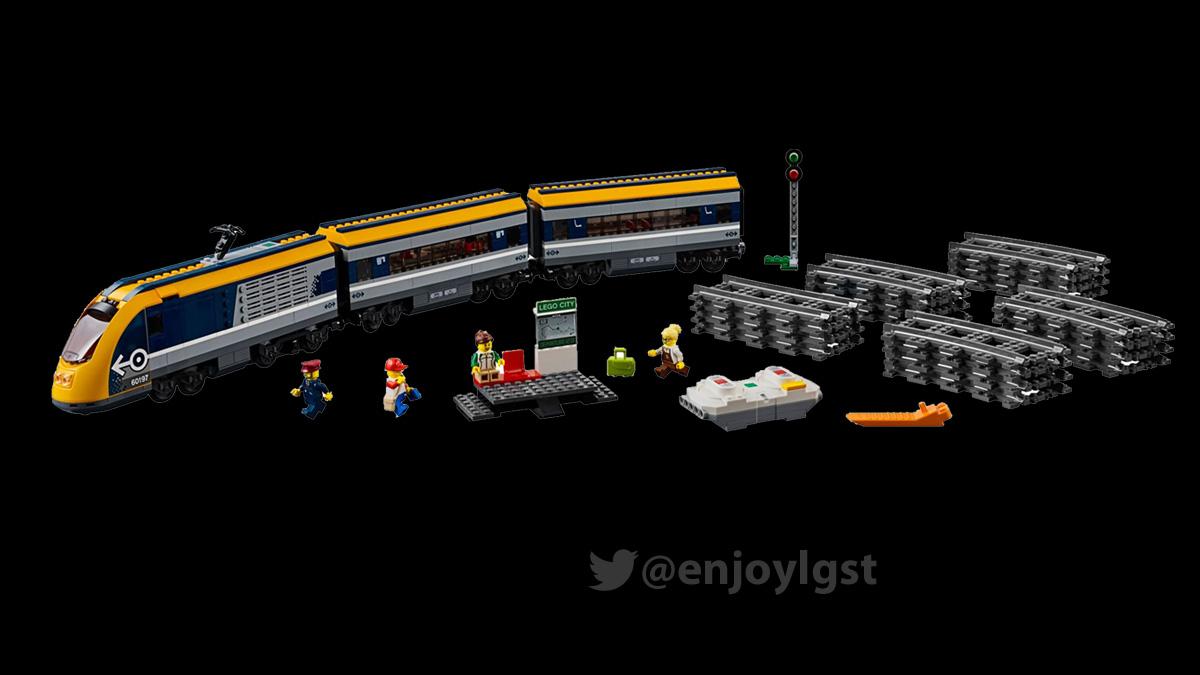 レゴ 60197 ハイスピード・トレイン:シティ:新製品・価格情報(LEGO)