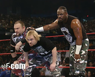 WWE / WWF Backlash 2001 - The Dudleyz faced The X-Factor