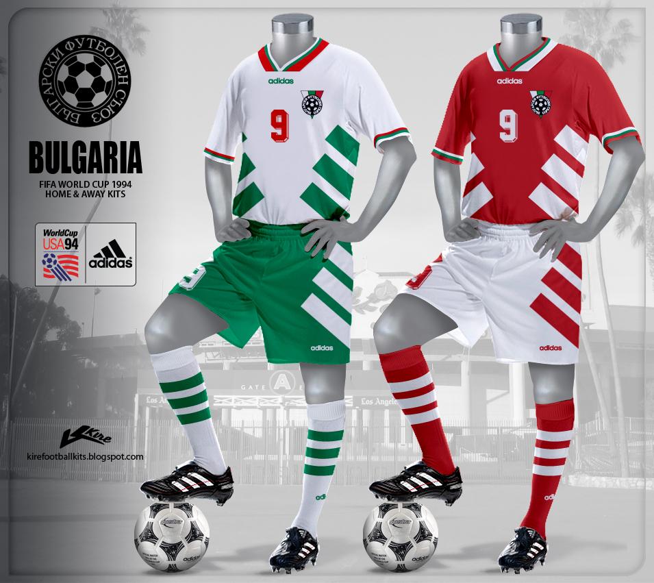 969fa85fd Kire Football Kits  Bulgaria Kits World Cup 1994