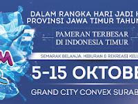 Jatim Fair 2017 Digelar 5–15 Oktober 2017
