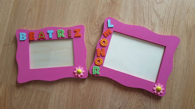 DIY custom photo frames