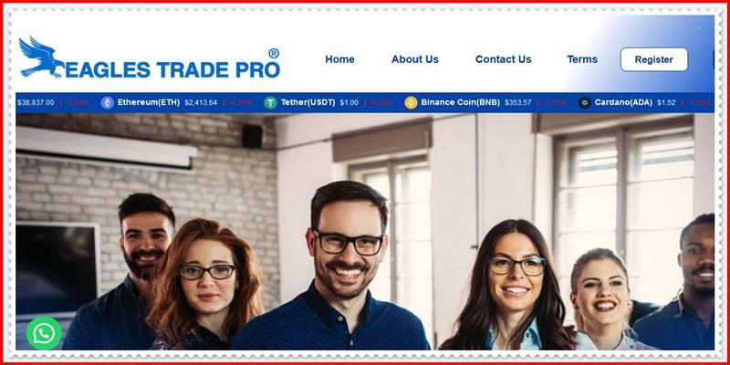 Мошеннический сайт eaglestradepro.com – Отзывы, развод, платит или лохотрон? Мошенники