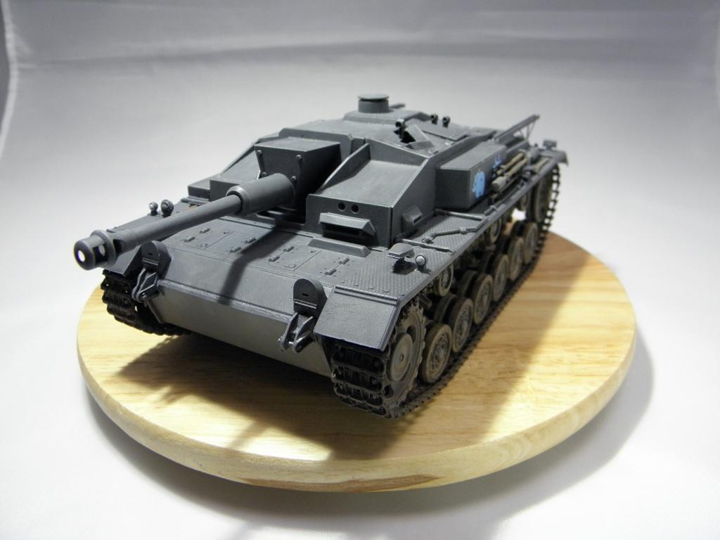 プラモデックス出張版: 1/35 Ⅲ号突撃砲F型製作(完成)