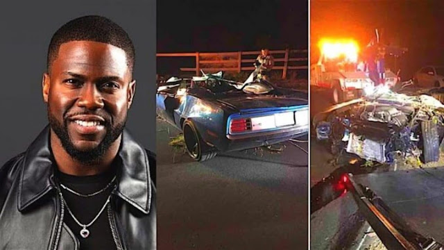 Kevin Hart suffers major back injuries in car crash