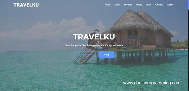 Aplikasi Tiket Pesawat dan Kereta Api Berbasis Website