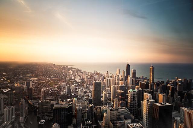 Aspecto urbano - Chicago - Estados Unidos da América