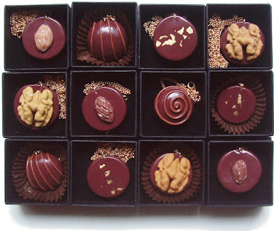 Pendentifs Colliers Chocolats - La Fille du Consul
