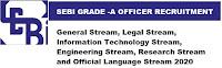 SEBI Recruitment for Officer Grade A (Assistant Manager)