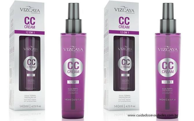 CC Cream 12 em 1 Vizcaya
