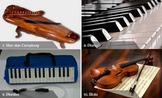 10 Contoh Alat Musik Harmonis Gambar Dan Keterangannya Adat Tradisional